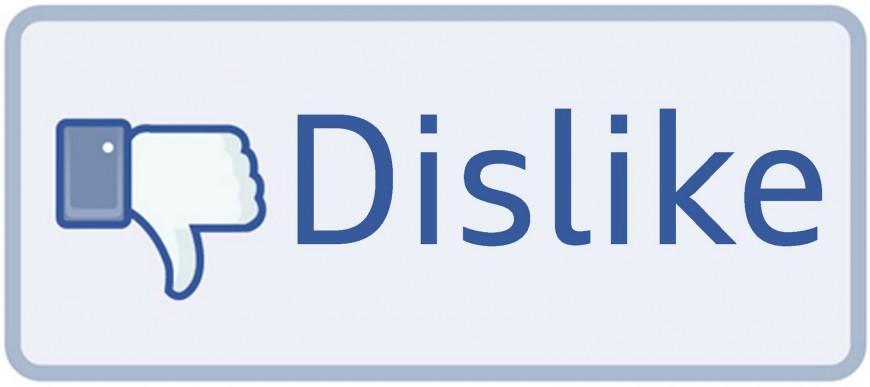 przyciski dislike - nie lubię